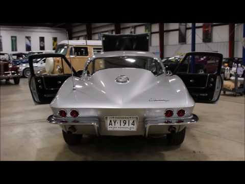 1964 Chevy Corvette Silver