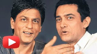 Shahrukh Khan In Love With Aamir Khan And His Upcoming Film Dhoom 3