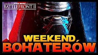 KYLO REN GRA W WEEKEND XP BOHATERÓW!  STAR WARS BATTLEFRONT 2 PL ☄️