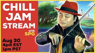 Chill Violin Jam & Request Stream | SPG Documentary Watch Party after! || String Player Gamer