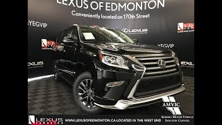 Black 2018 Lexus GX 460 Executive Package Review West Edmonton Alberta