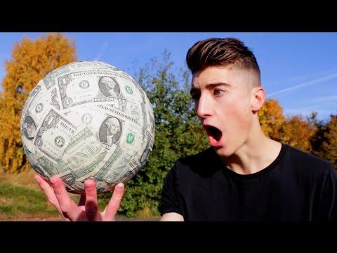 INSANE $$$$$ FOOTBALL!!! (The Dollar Bill Football)