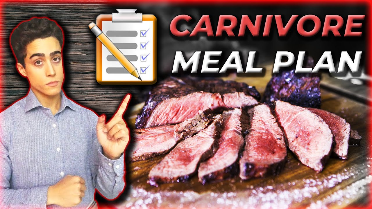 Carnivore Diet Meal Plan Youtube