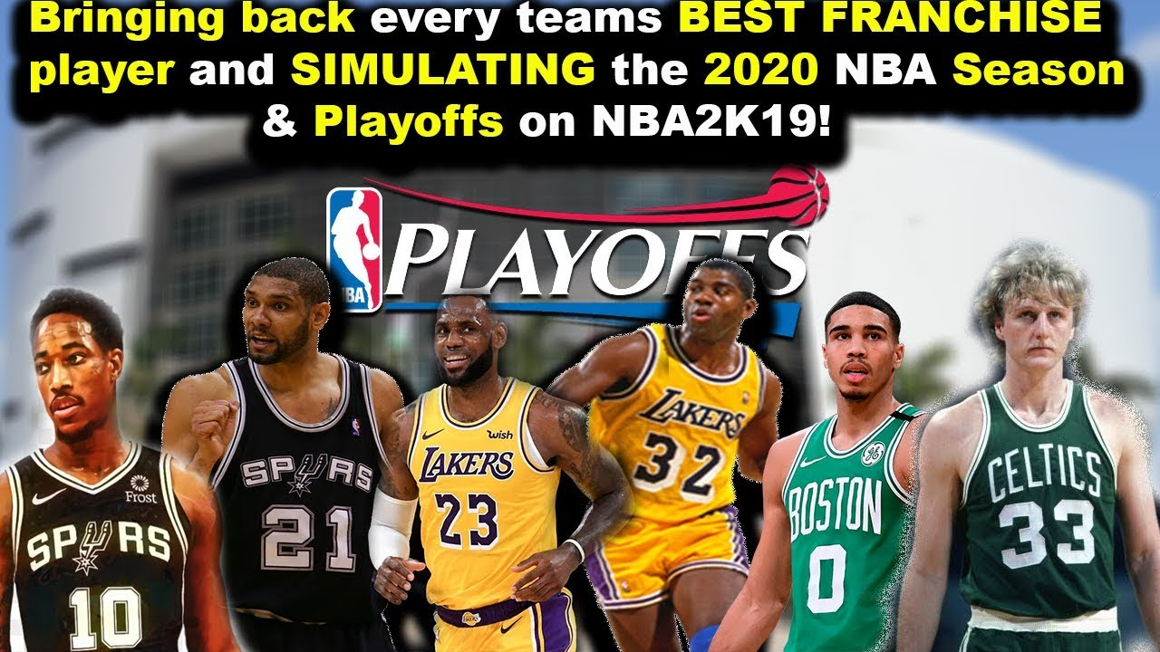 2020 best franchises What if EVERY NBA Team brought their ONE BEST Franchise Player