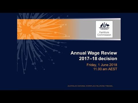 Annual Wage Review decision 2017-18