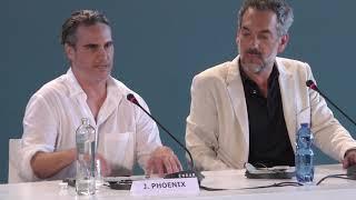 Joaquin Phoenix talks JOKER and how he prepared physically / Venice Film Festival