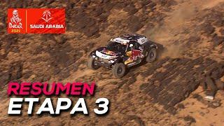 Sainz se pierde y cede media hora, Al-Attiyah gana | Resumen Etapa 3 Dakar 2021 | SoyMotor.com