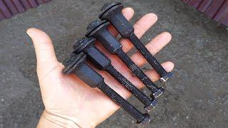Походный мангал из хлама. Своими руками