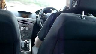 Test driving the Vauxhall Astra