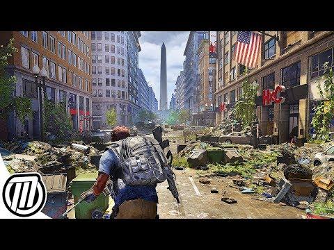 The Division 2: 4K Open World Gameplay + Story, DLC & BETA BREAKDOWN
