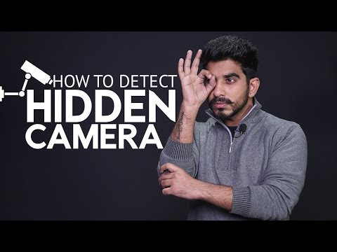 How to detect hidden camera | Tips and Tricks [Hindi-हिन्दी]