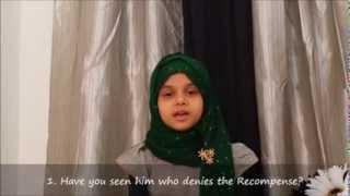 Download lagu Surah Al Maun 107 recited by Laam MP3
