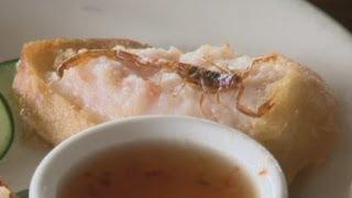 Fried scorpions on California restaurant menu