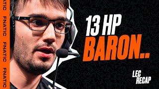 13 HP BARON..   LEC 2020 Spring Highlights (Week 7)