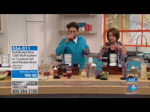HSN | Kitchen Innovations Celebration featuring Nutribullet 07.03.2017 - 12 PM