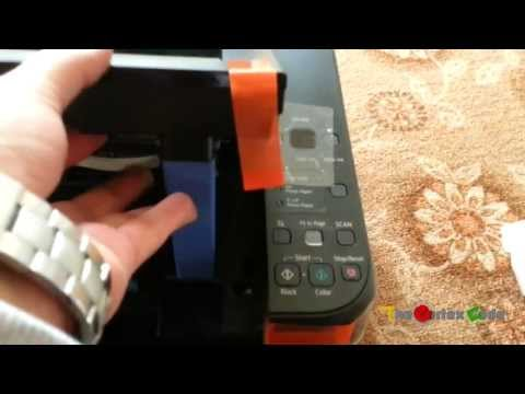 Unboxing of Canon PIXMA MP287