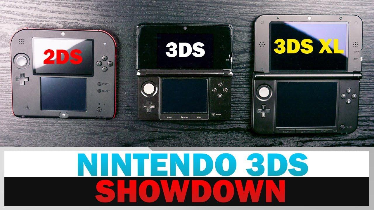 Download Nintendo 2DS vs. 3DS vs. 3DS XL