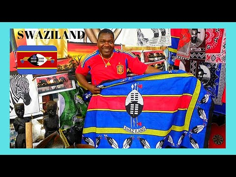 SWAZILAND (ESWATINI): The COLOURFUL MARKETS of MANZINI (AFRICA)
