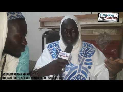 Sangue  Barhama Ndiaye  Sur Faydou Sanii TV