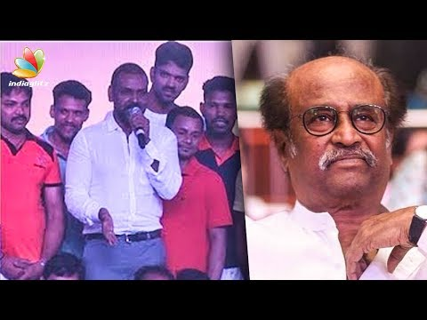 Raghava Lawrence speech about Superstar Rajinikanth