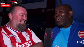 Stoke 1 Arsenal 0 | Little Stoke Turned You Over! (Stoke Fan)