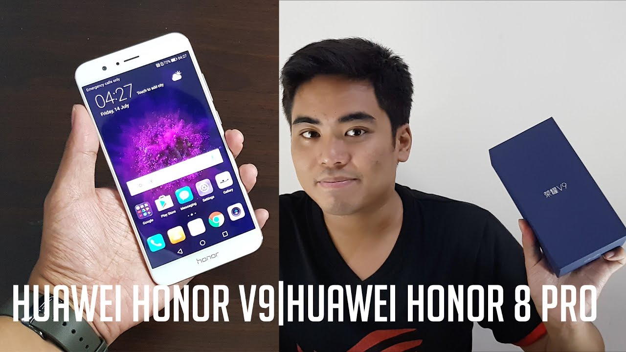 Huawei Honor V9 Unboxing And Hands On YouTube