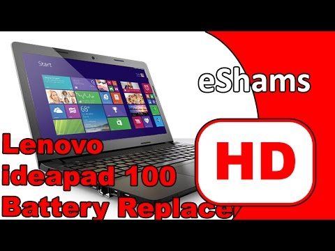 Lenovo IdeaPad 100 Battery Replacement