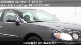 2008 Buick LaCrosse CXL - for sale in Grand Rapids, MI 49525