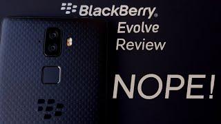 BlackBerry Evolve Review: Devolved