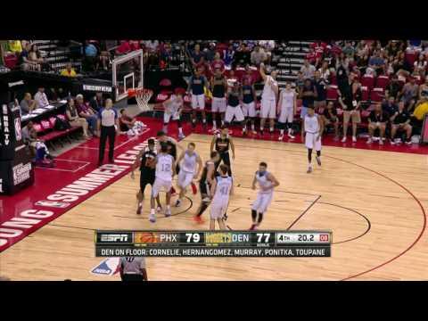 Phoenix Suns vs Denver Nuggets | July 16, 2016 | NBA Las Vegas Summer League 2016