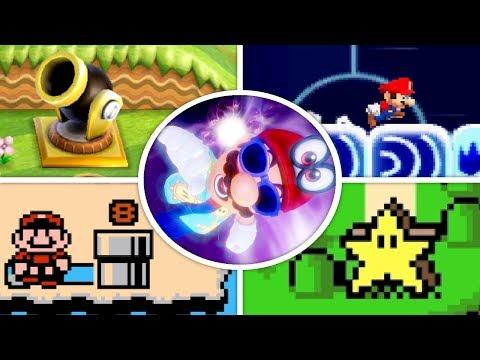 Evolution of Warp Zones in Mario Games (1985 - 2018)