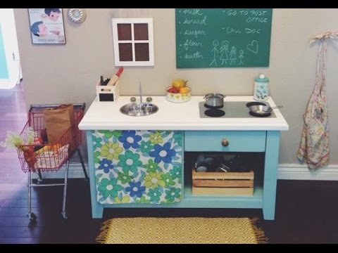 Cheap diy play kitchen youtube cheap diy play kitchen solutioingenieria Image collections