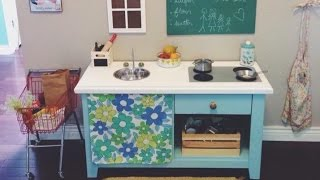Cheap Diy Play Kitchen!