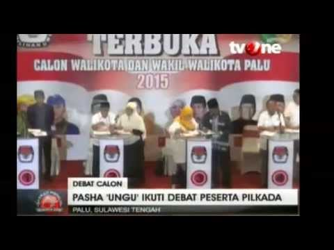 Pilkada Serentak :Pasha 'Ungu' Ditanyai Soal Kasus KDRT