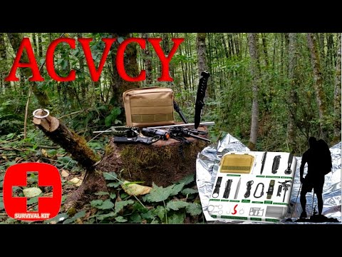 ACVCY 15 In 1 Tactical Survival Kit Review | Stay Alive!
