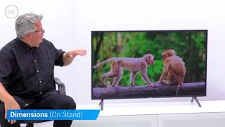 Samsung UE49NU7100K 49 quot Smart HDR 4K UHD Television Review with input lag testing