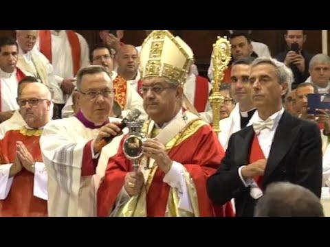 San Gennaro 2017, si scioglie il sangue del patrono di Napoli