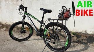 Build a Air Bike at home - v2 - Using 2-Stroke 33cc Engine - Tutorial