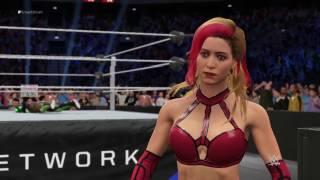 WWE 2K17 OMFG: OMG hunt and Diva gameplay