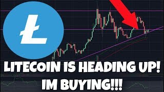 Litecoin Is Heading Up! Bouncing Off Support! Im Buying In!