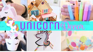 Unicorn Party Decor 🦄 On A Budget! | Birthday Traditions, Unicorn Supplies Haul Plus Gifts!