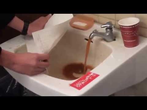 うちの高校の水道水がやばい