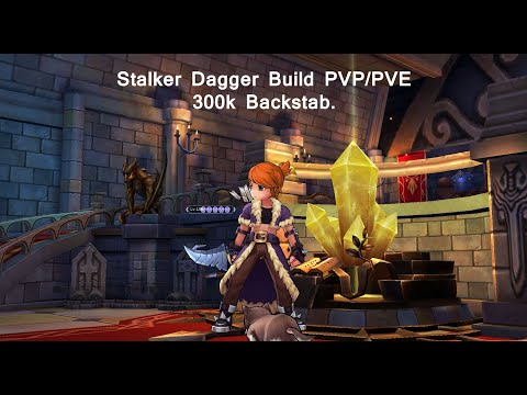 Stalker PVP/PVE Dagger Build 300k backstab - Ragnarok Online Mobile