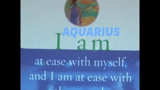 AQUARIUS DECEMBER 2015 SPIRITUAL LOVE TAROT READING