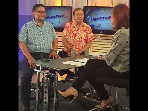Ruffy Biazon Interview by Karen Davila on Headstart- Oct. 2, 2015