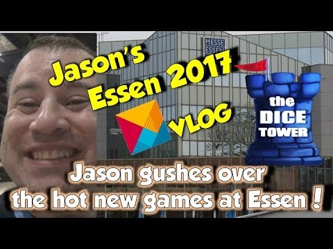 Jason gushes over the hot new games at Essen Spiel 2017!