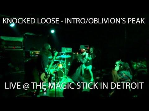 KNOCKED LOOSE - INTRO/OBLIVION'S PEAK LIVE @ THE MAGIC STICK IN DETROIT