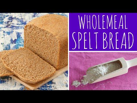 Easy & Healthy Wholemeal Spelt Bread Recipe bread maker / bread machine | Recipe Diary