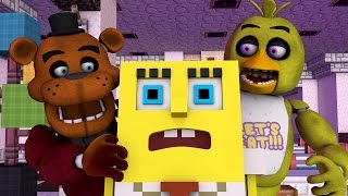 Repeat youtube video Spongebob Goes Into Five Nights at Freddys! (Minecraft Animation)