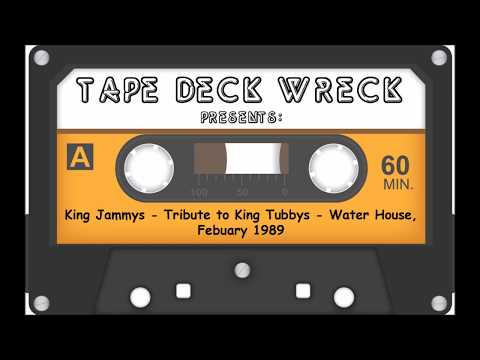 King Jammys - Tribute to King Tubbys - Water House, Febuary 1989